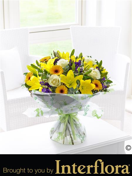 Extra Large Spring Sunshine Hand-tied