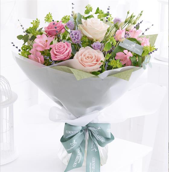 Country Living Mother's Day Pastels Hand-tied