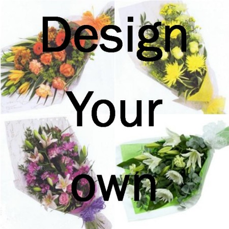 Design your own bouquet for Create your own flower arrangement
